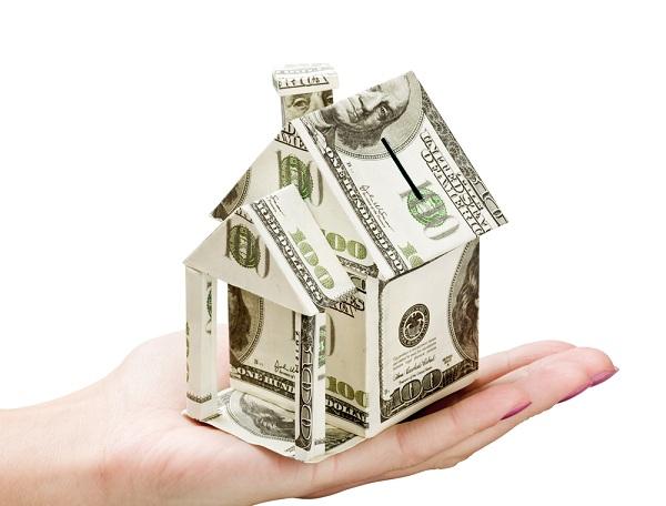Как сделать домик из денег своими руками